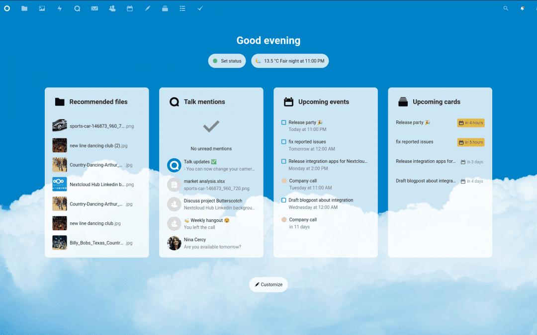 Nextcloud 20 – un deciso salto in avanti per la collaborazione
